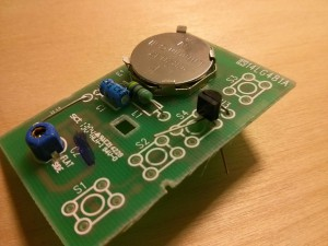 The circuit board with transistor